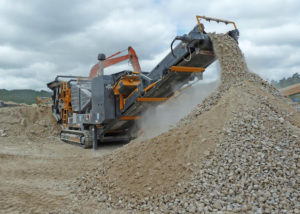 Tesab 10570 Tracked Jaw Crusher