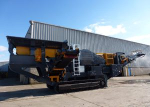 Tesab 10580 Tracked Jaw Crusher