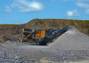 Tesab 1200TC Tracked Cone Crusher