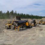 Tesab 623S Wheeled Impact Crusher