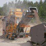 Tesab 643S Wheeled Impact Crusher