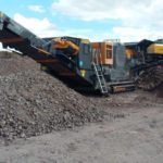 Tesab 700i Tracked 'Contractor' Jaw Crusher
