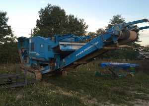 2005 BL Pegson Metrotrack Jaw Crusher